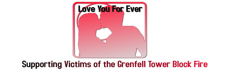 Love You Forever Project, raising money for the victims of the Grenfell fire